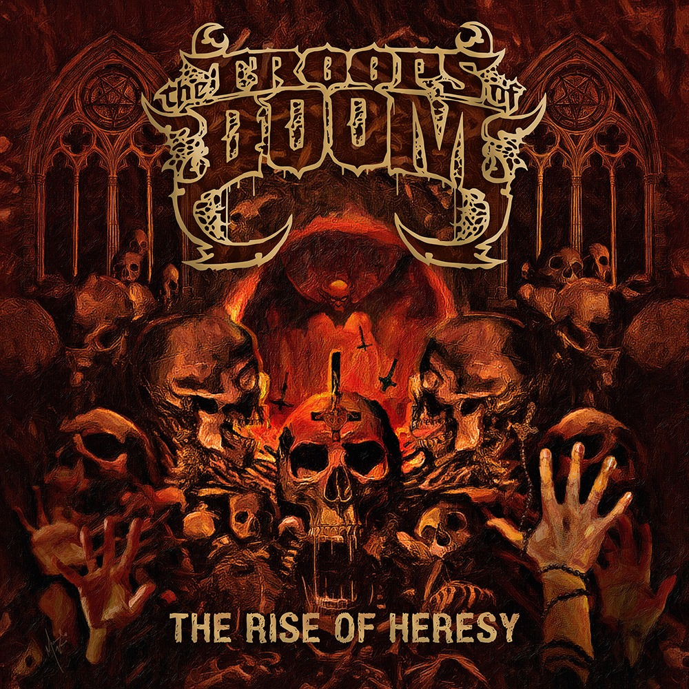 The Troops Of Doom⛧The Rise Of Heresy EP | review
