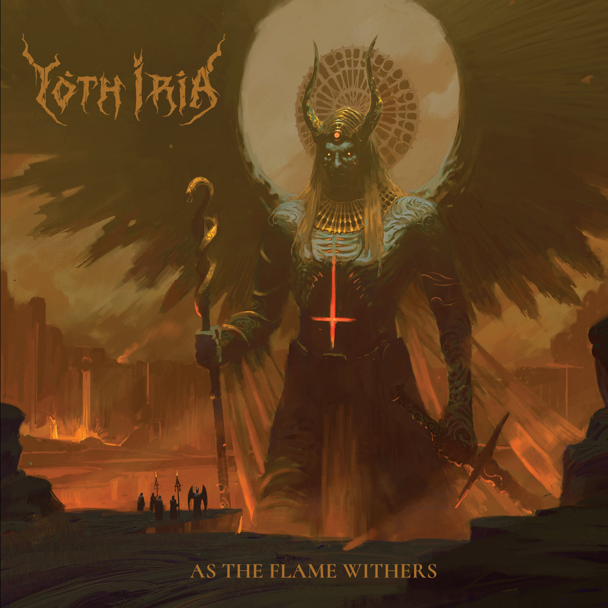 Yoth Iria⛧As The Flame Withers |review